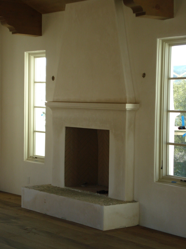 Custom home building for Isokern fireplace cost
